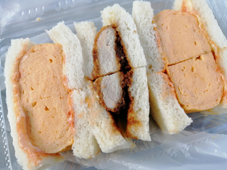 二色サンド